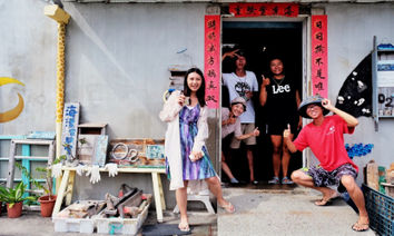 【駐島計劃】下港女子寫有路用的遊記@樂活島 用海邊廢棄物重生為藝術品,吸引大家關切海洋垃圾議題:O2 Lab 海漂實驗室。