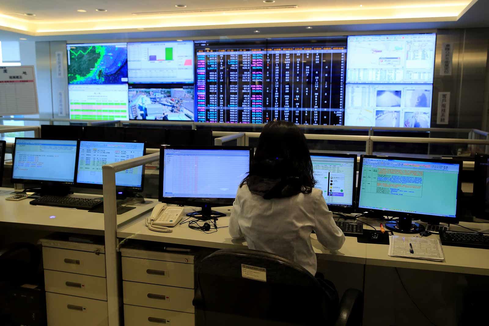 國產建材實業成立監測中心,從源頭控管砂石。